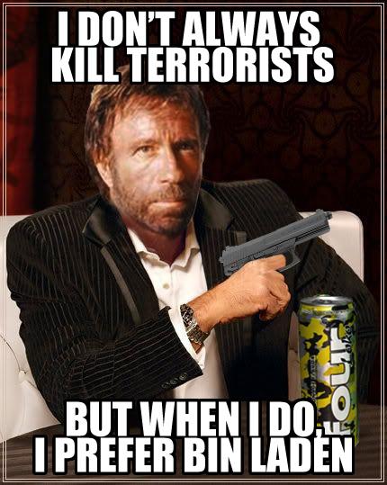 chuck image 119665] osama bin laden's death know your meme