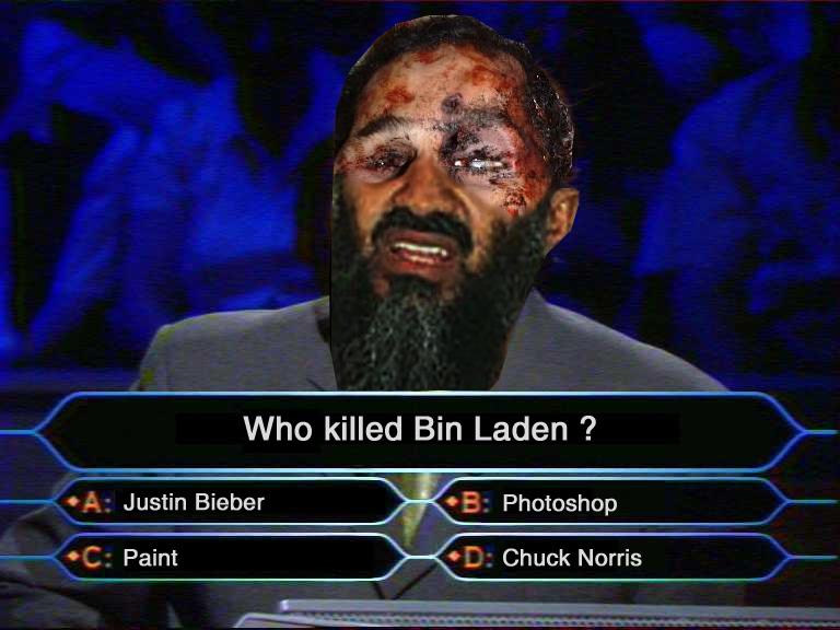 whokilledbinladen image 121224] osama bin laden's death know your meme