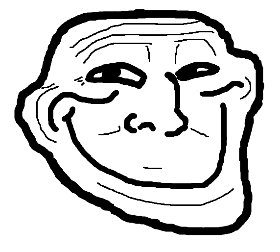 Image 122292 trollface coolface problem know your meme face facial expression black and white line art nose smile head emotion human behavior voltagebd Gallery