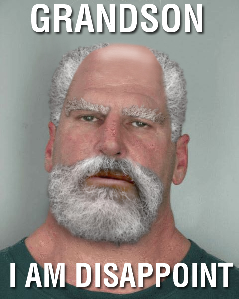 grandson image 139186] son, i am disappoint know your meme,Son I Am Disappoint Meme Generator