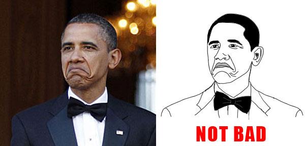 obamanotbad image 145729] obama rage face not bad know your meme