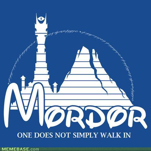[Image - 157116] | One Does Not Simply Walk into Mordor ...