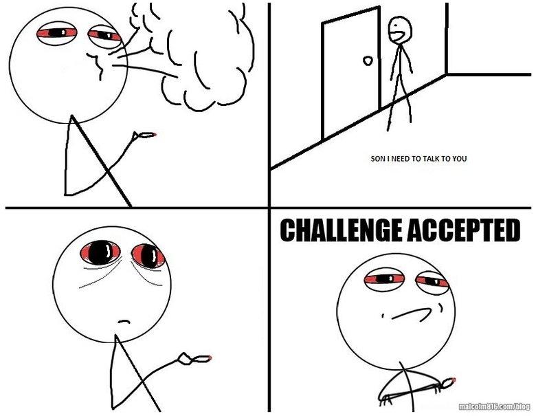 meme faces challenge accepted - photo #6