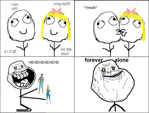 Image 159278 Forever Alone Know Your Meme
