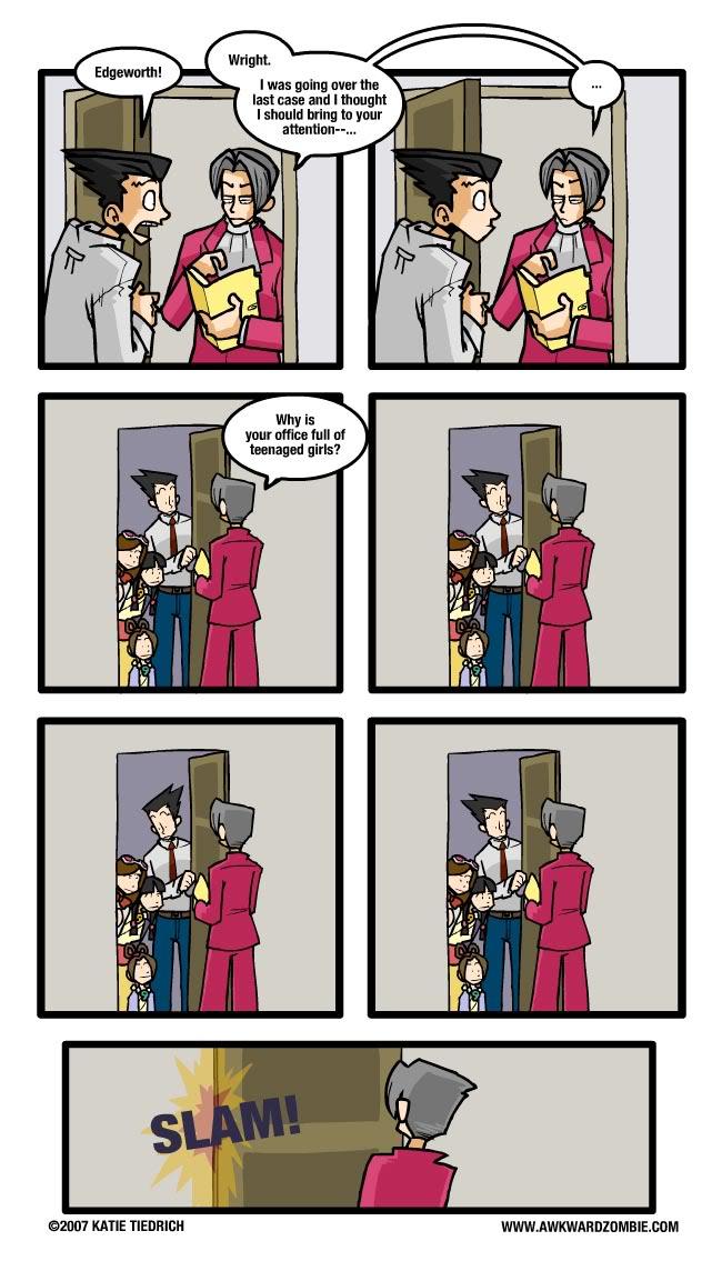 comic17 image 173166] phoenix wright ace attorney know your meme,Phoenix Wright Memes