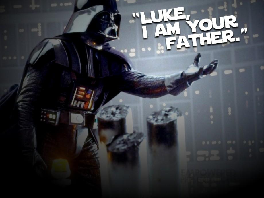Výsledek obrázku pro luke i am your father