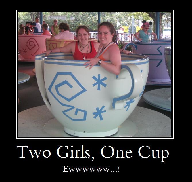 Teaching one girl 2 cups knows what