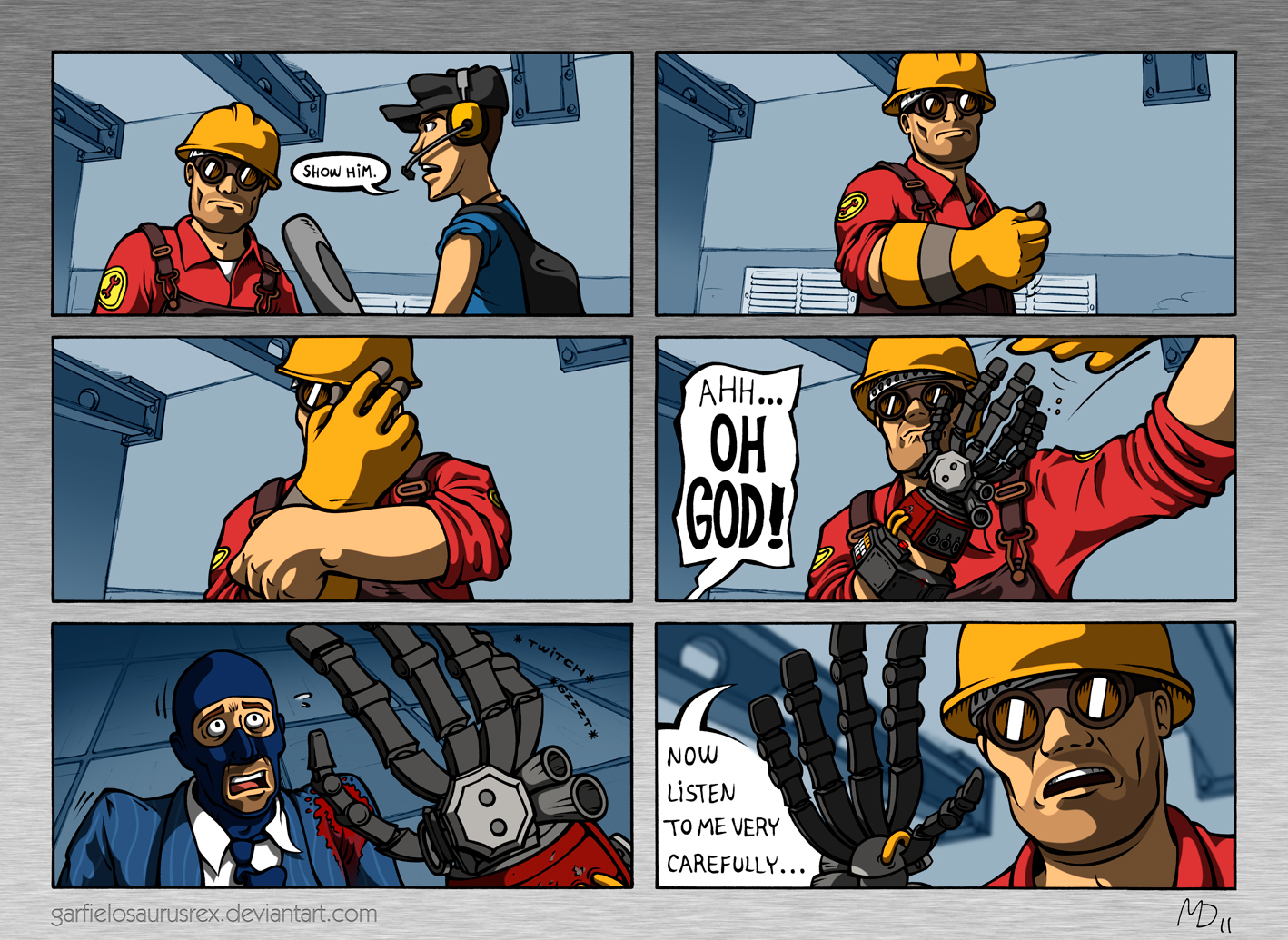 tf2__judgment_round_by_garfielosaurusrex d40ockx engie shows how his hand looks like team fortress 2 know your meme