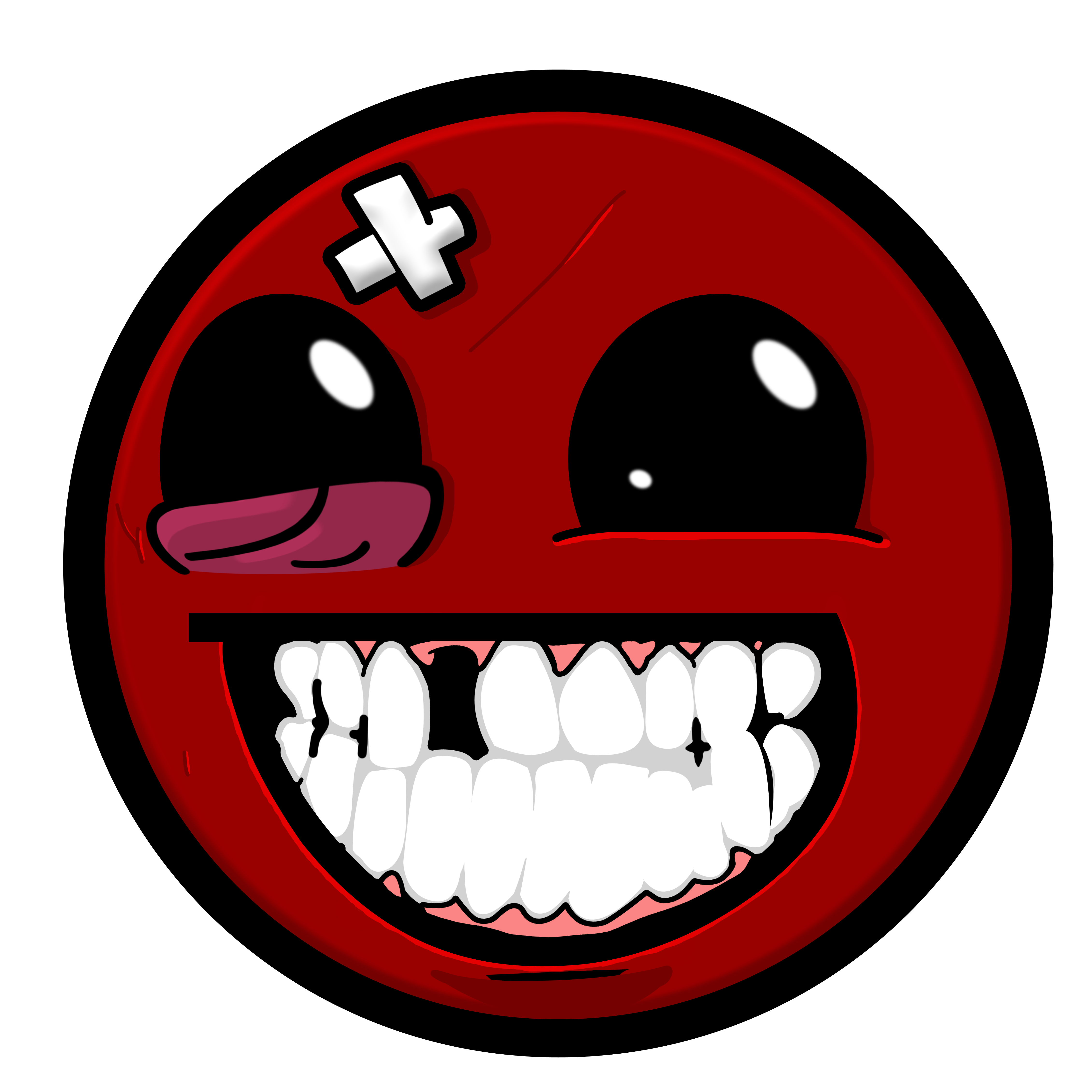 Super Meat Boy Smiley | Awesome Face / Epic Smiley | Know ...