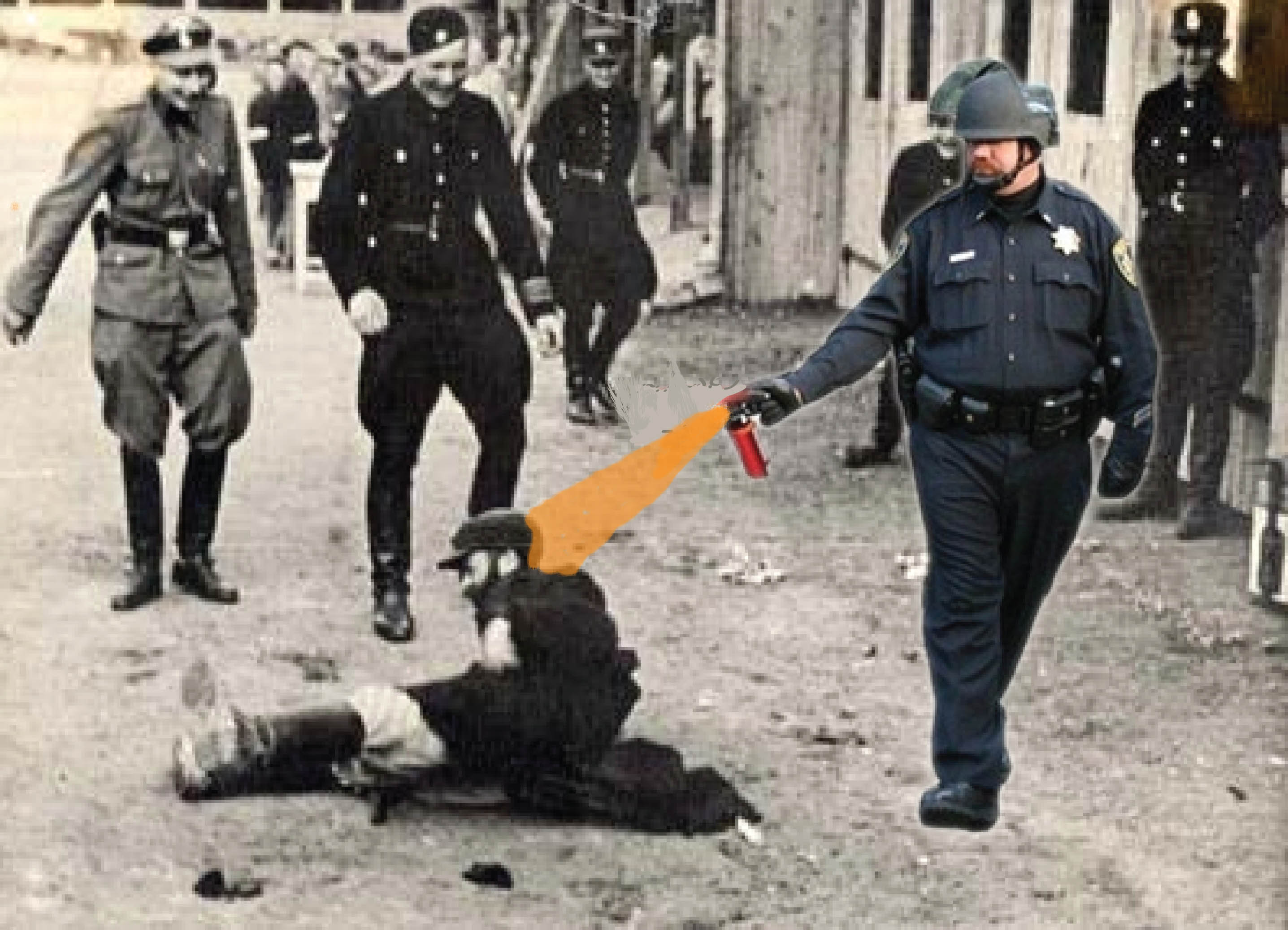 ed1 image 205799] casually pepper spray everything cop know your meme