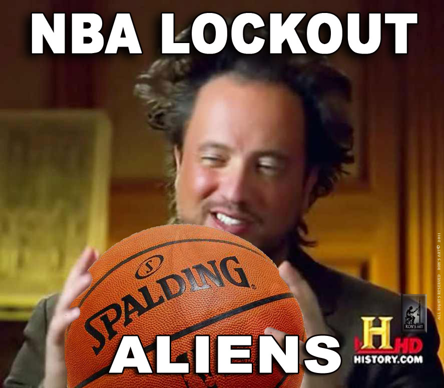 ALIEN GUY NBA LOCKOUT image 209973] ancient aliens know your meme