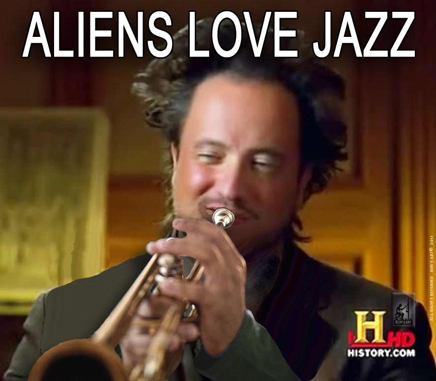 ALIEN GUY HORN image 210046] ancient aliens know your meme