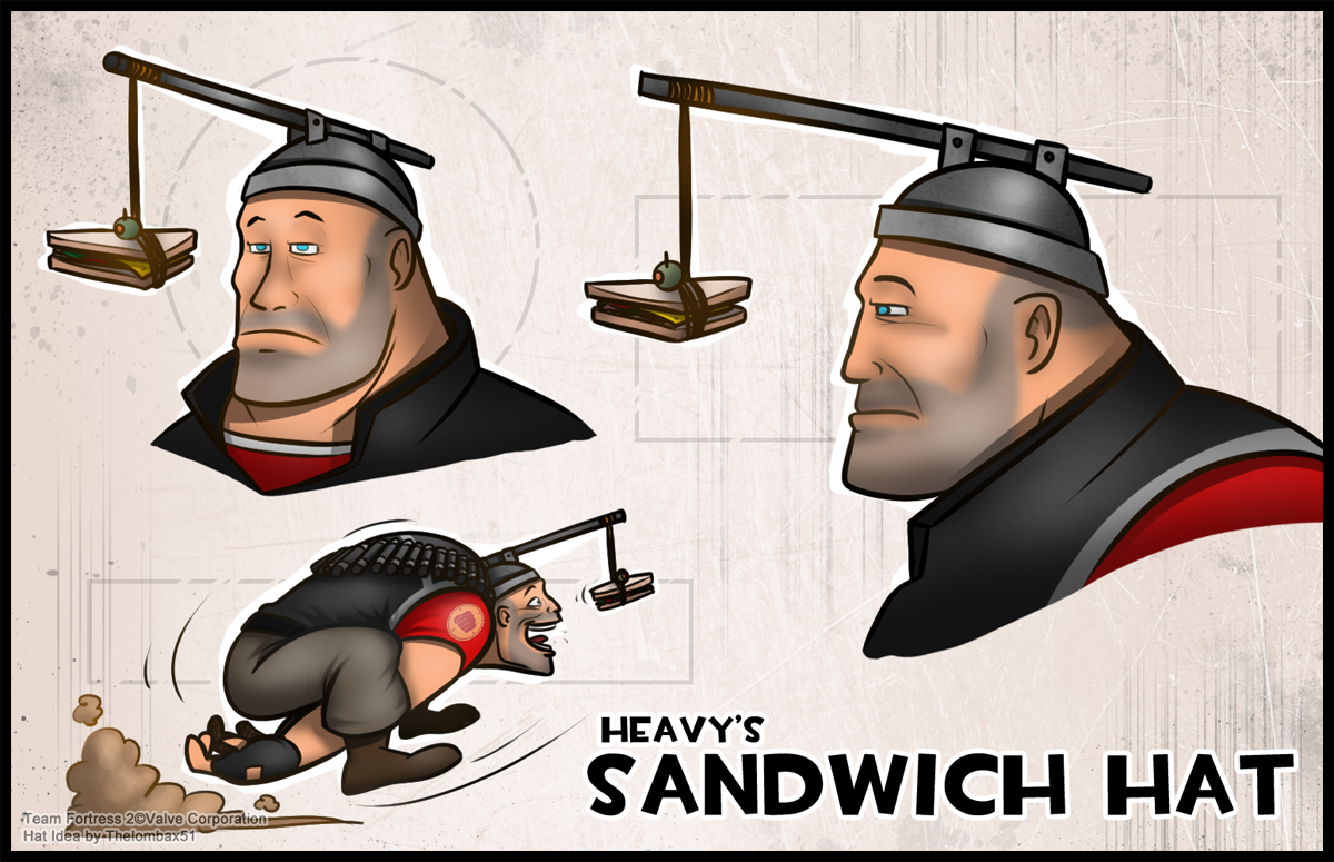 tf2___sandwich_hat_by_thelombax51 d31h01r image 219543] team fortress 2 know your meme
