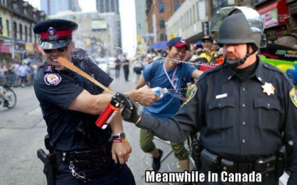 53e image 242745] casually pepper spray everything cop know your meme