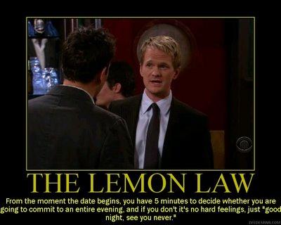 Lemon law dating