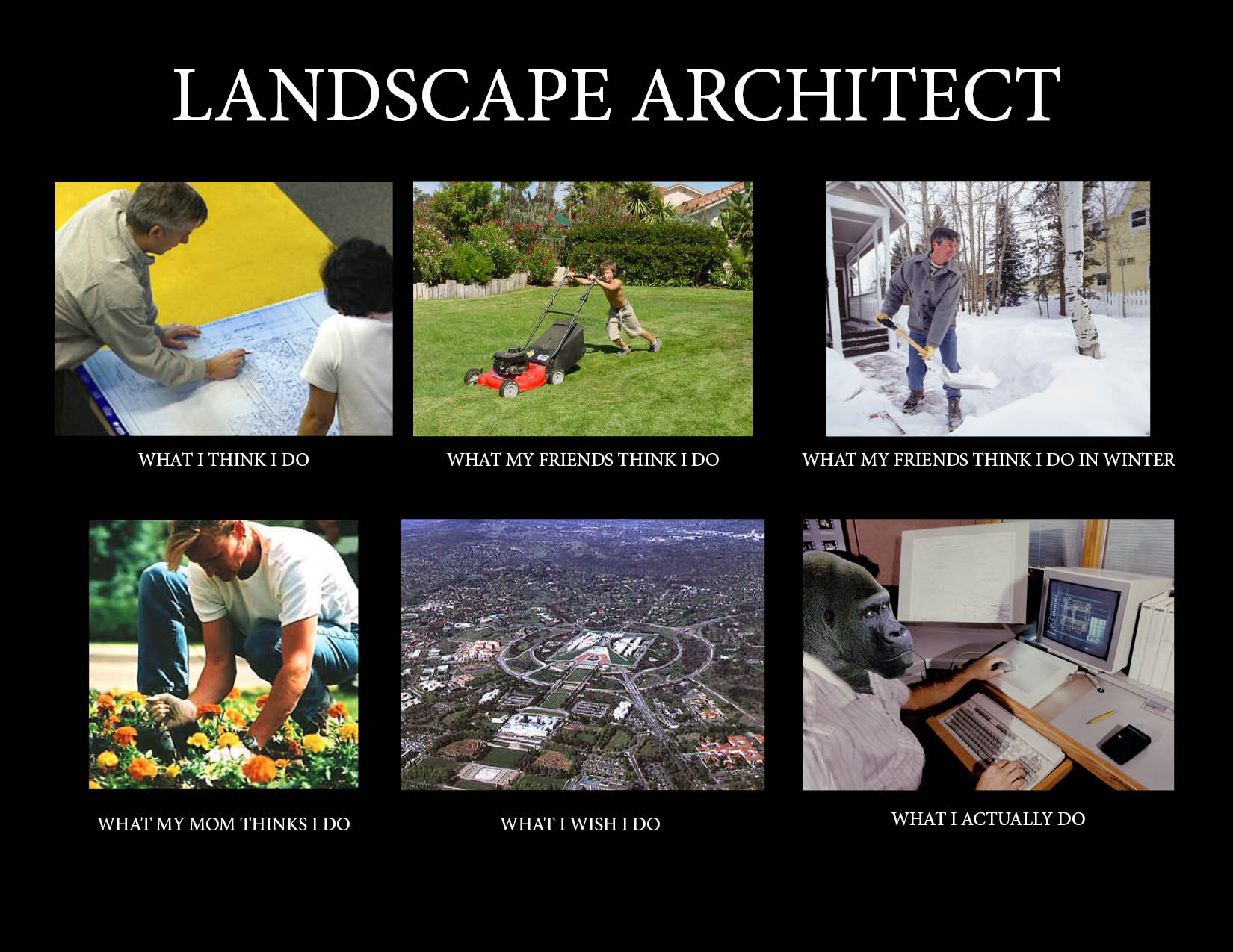 Image 257311 what people think i do what i really for How do architects think