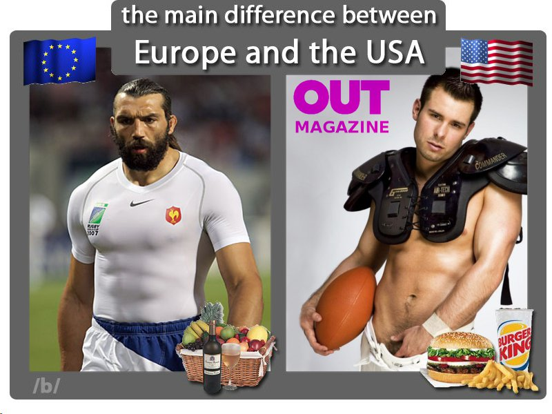 The best: difference between american and european dating show