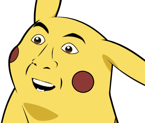 961 image 265003] give pikachu a face know your meme