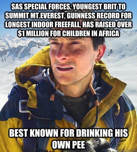 drink pee bear