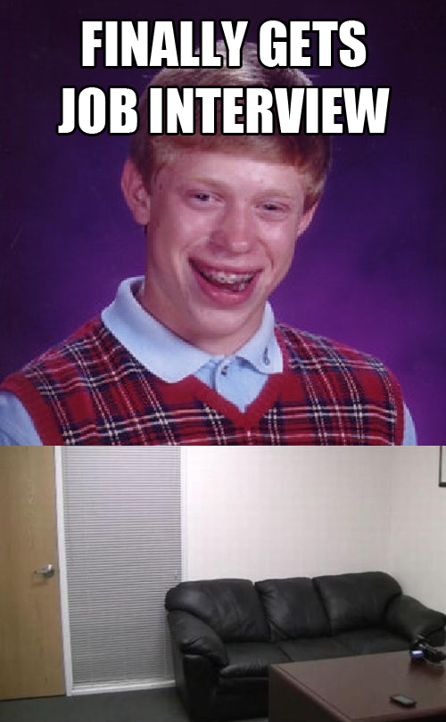 f43 sofa bad luck brian know your meme