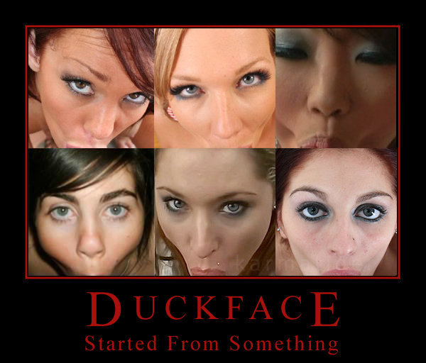 084 start duck face know your meme
