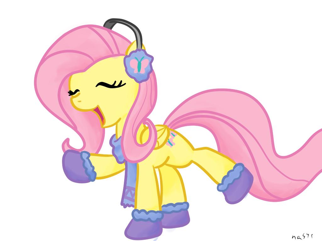 My little pony fluttershy cute - photo#14