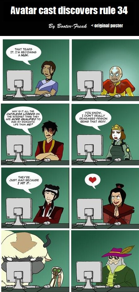 Avatar Cast Discovers Rule 34 By Booter Freak Original Noster THAT TEARS BECOMINe A NLIN
