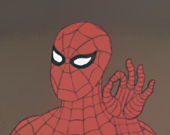 60e spidey ok!! 60's spider man know your meme