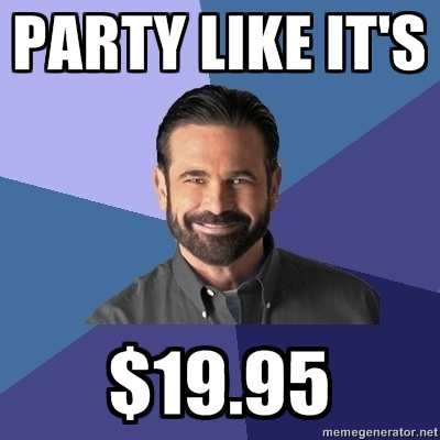 99d billy mays here! billy mays know your meme