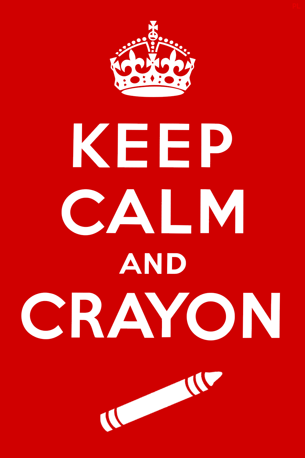 Keep Calm And Carry On Little Kid