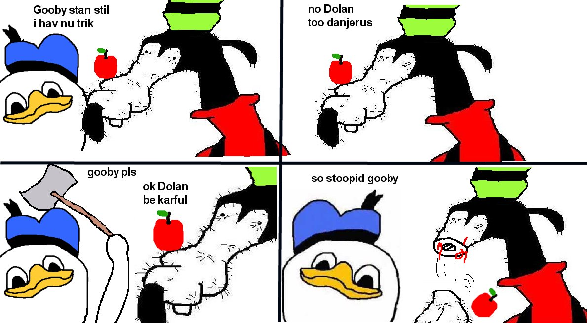 Gooby And Dolan Costumes [Image - 309479...