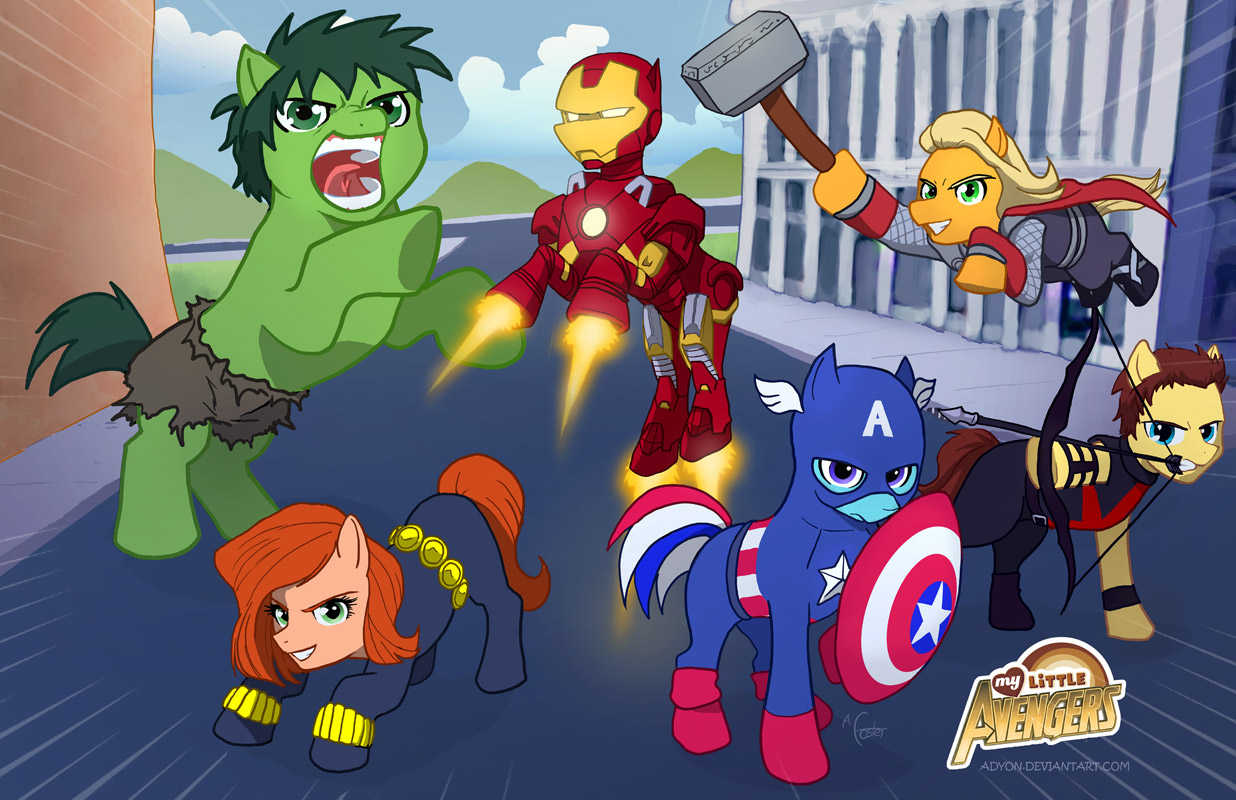 My Little Avengers My Little Pony Friendship Is Magic