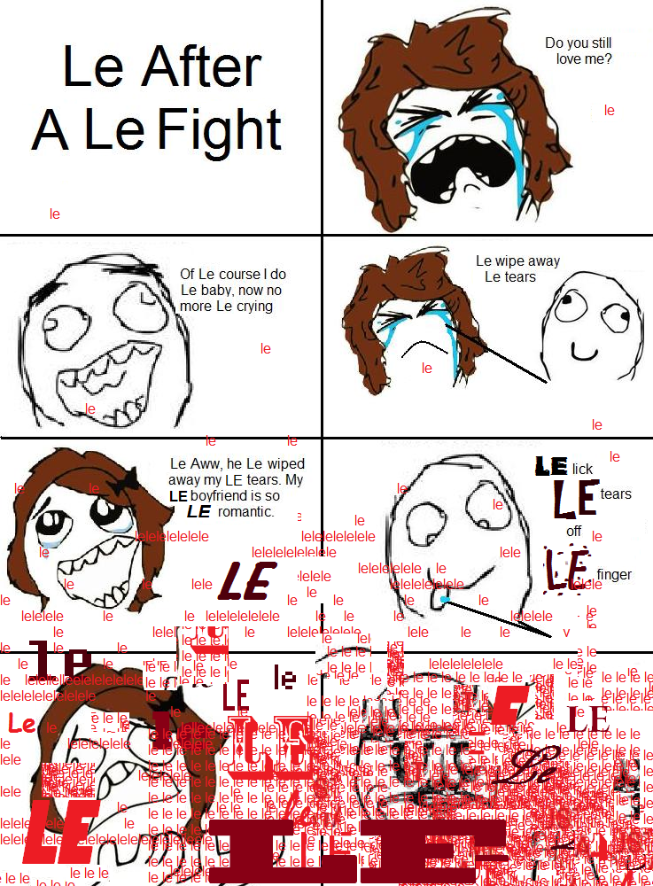 1d5 le average le rage le comic reddit know your meme