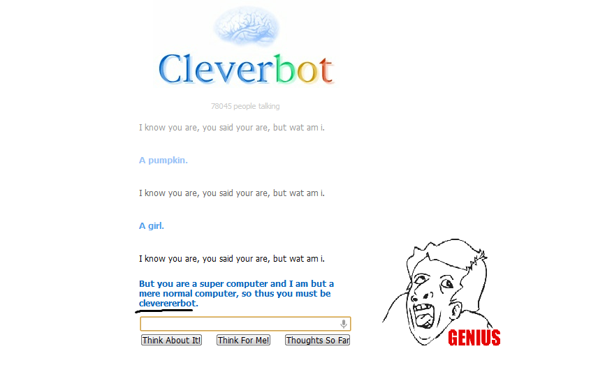935 clevererbot cleverbot know your meme