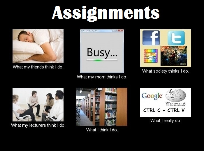 Do assignments