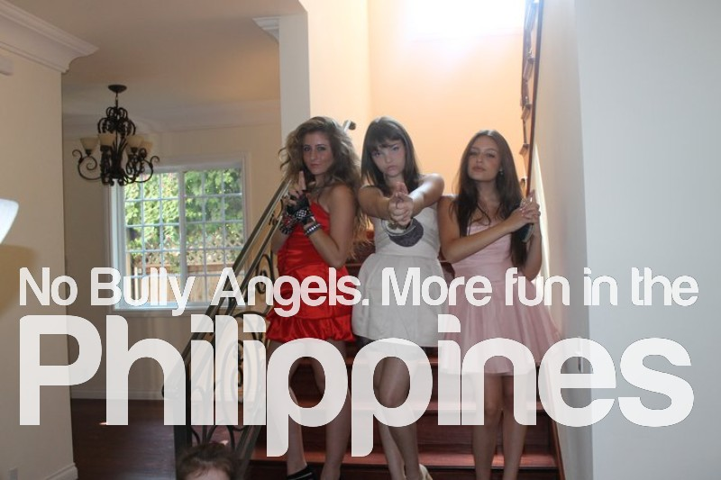 no bully angels  more fun in the philippines