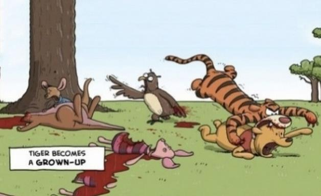 da9 grown up tigger winnie the pooh know your meme,Pooh And Piglet Meme