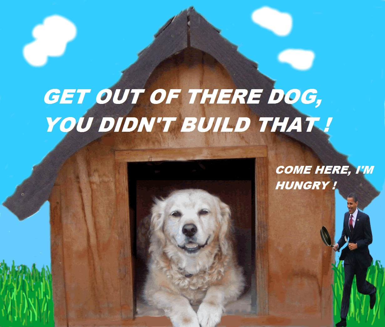 453 in the dog house obama the eater of dogs know your meme,Doghouse Meme