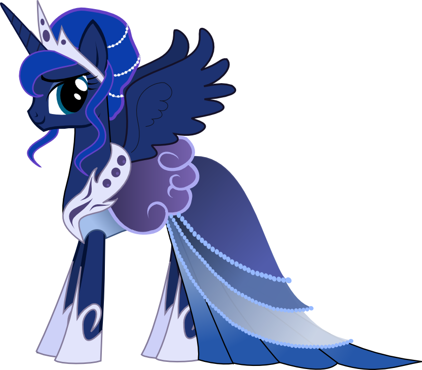 Princess Luna Gala Dress  My Little Pony Friendship is Magic
