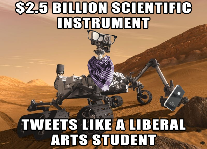 f08 hipster curiosity twitter mars exploration know your meme