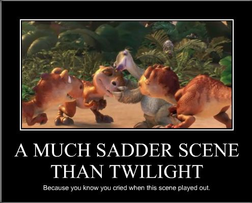 9be a much sadder scene than twilight still a better love story than