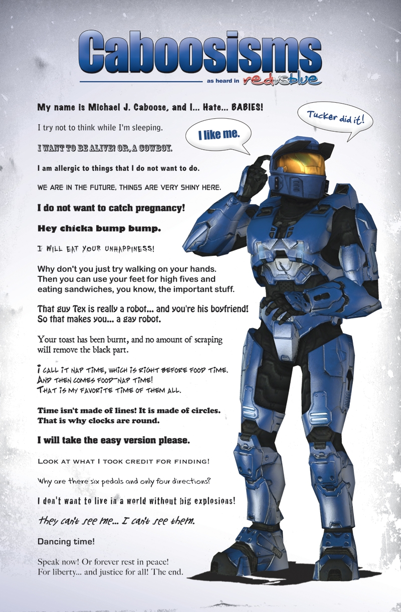 0eb caboosisms red vs blue know your meme