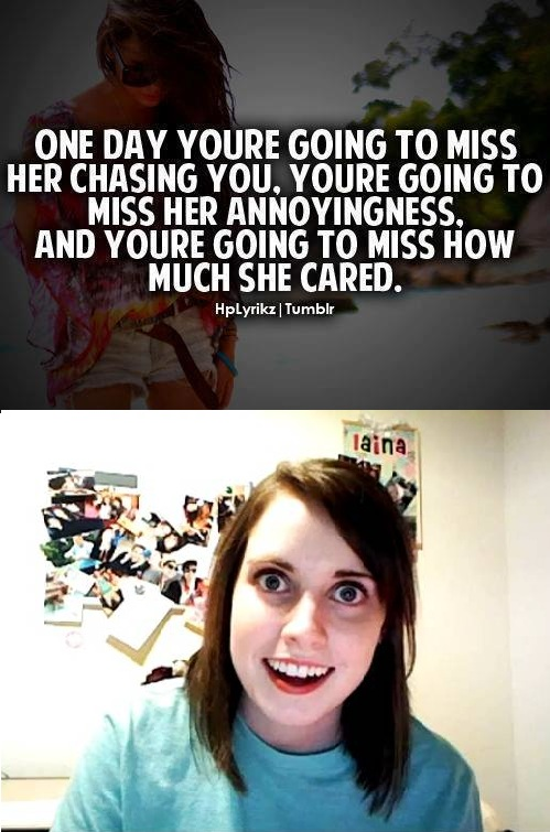 546 image 385833] overly attached girlfriend know your meme