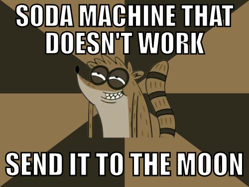 22a soda machine regular show know your meme