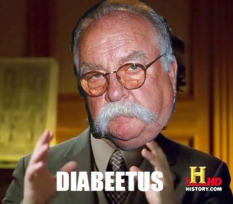 bf8 diabeetus! ancient aliens know your meme