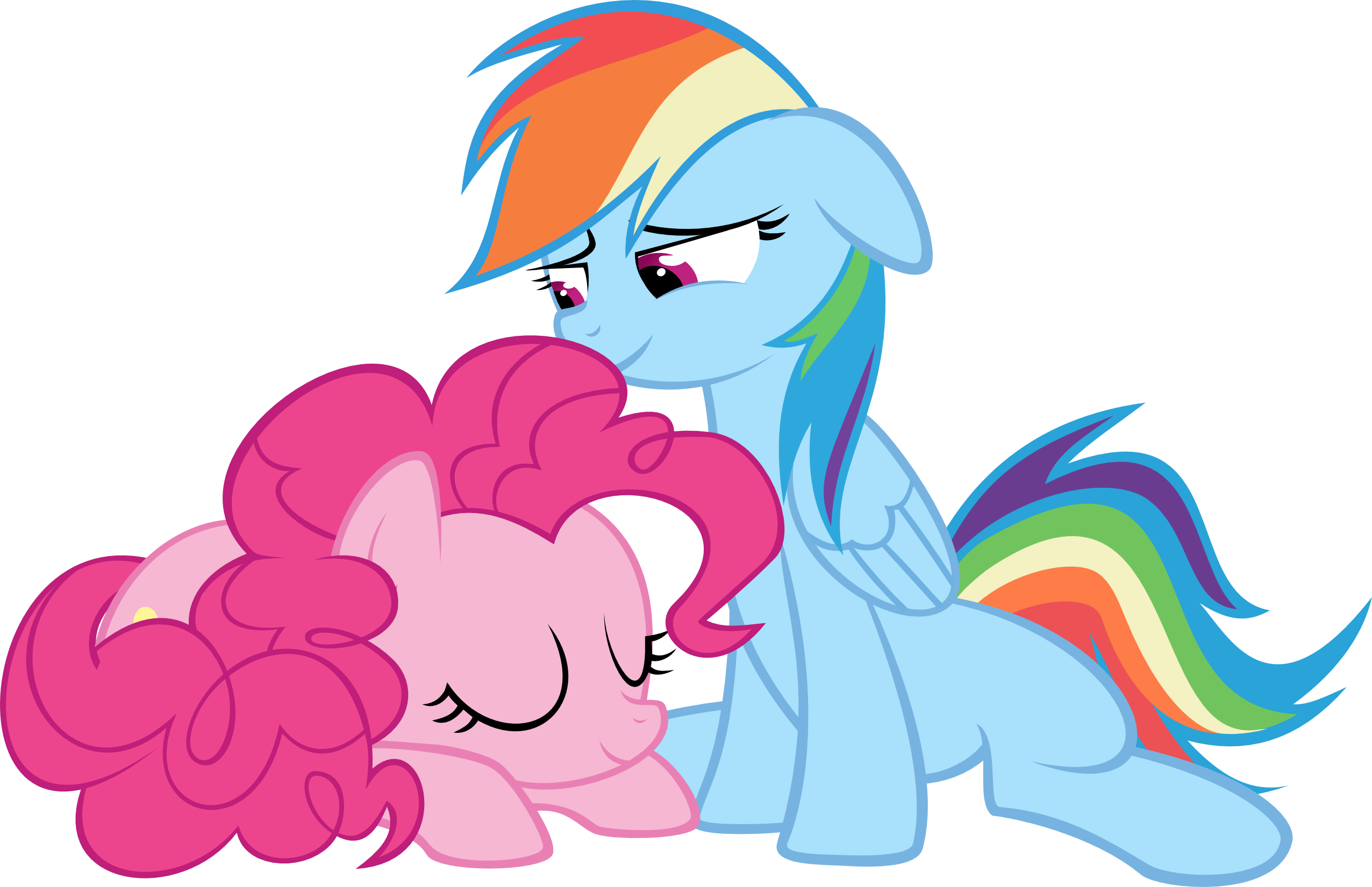 sleeping pinkie pie vector - photo #24