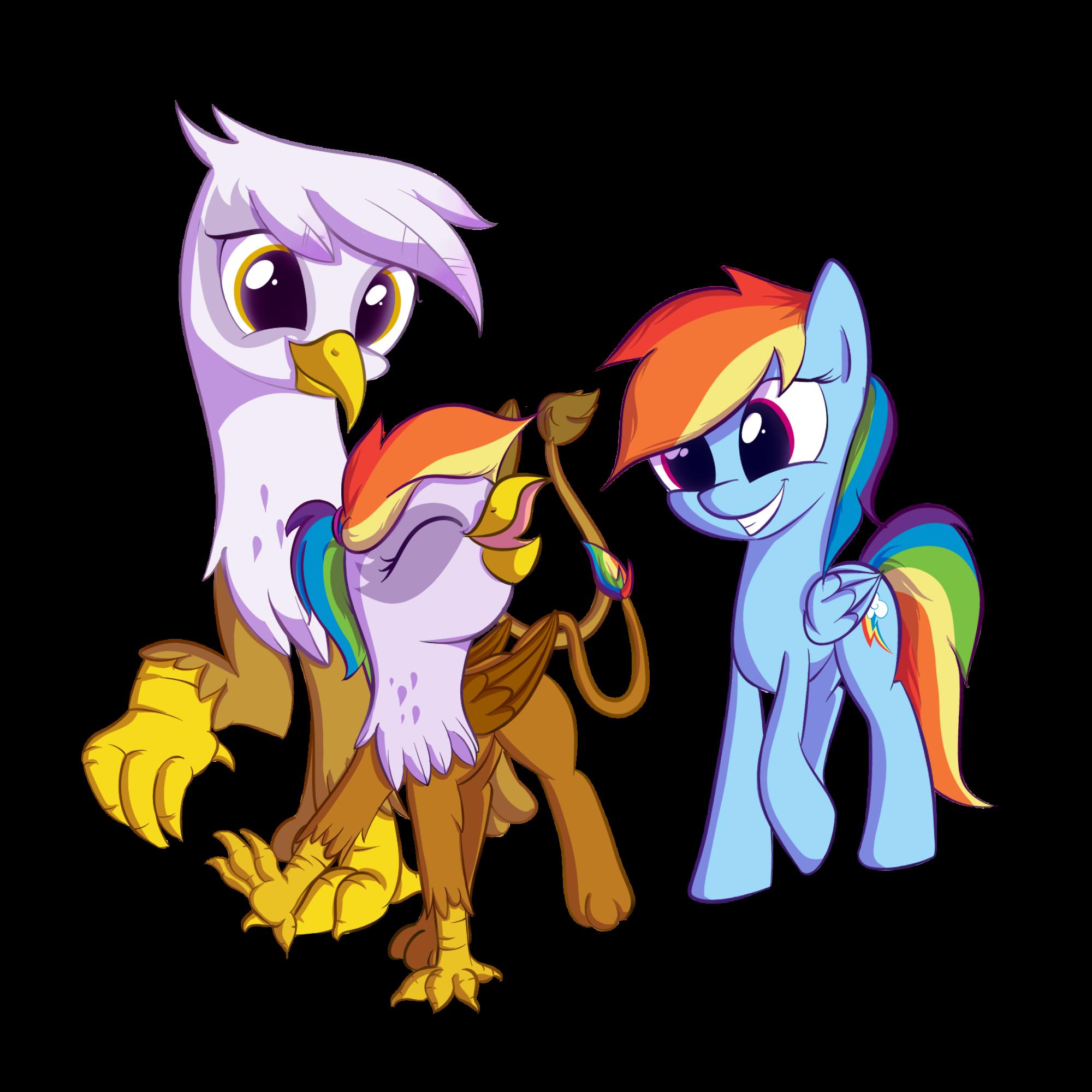 Rainbow Family My Little Pony Friendship Is Magic