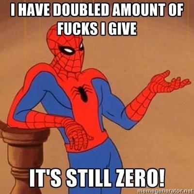 44c still zero 60's spider man know your meme