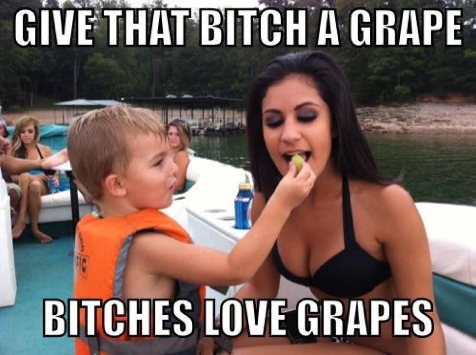 Funny Meme Smiley : Bitches love grapes bitches love smiley faces know your meme
