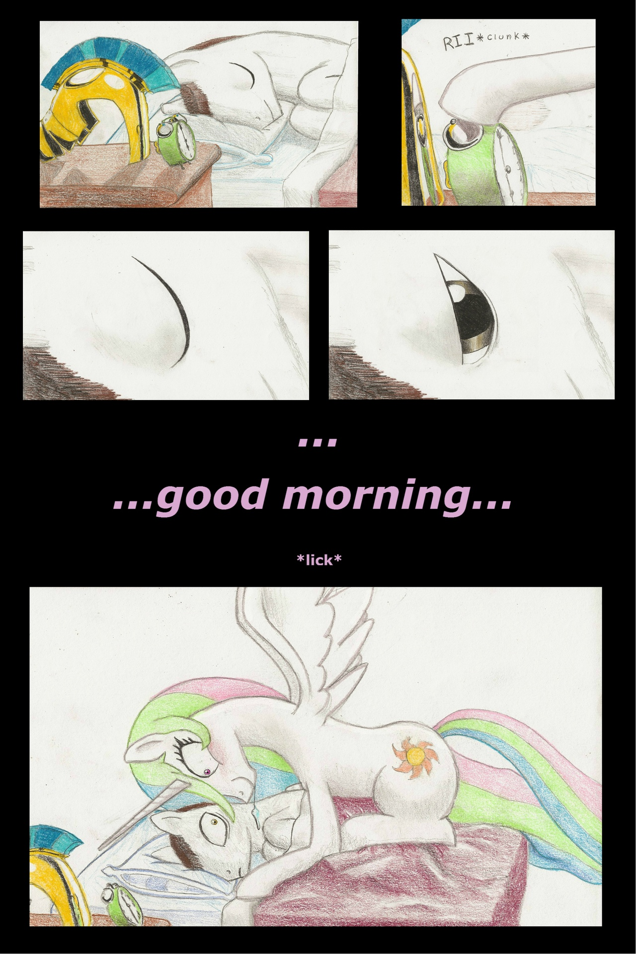 443 good morning my little pony friendship is magic know your meme